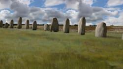 Une énorme arène de mégalithes découverte près de