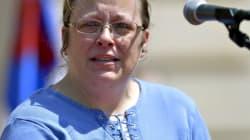 Kim Davis Walks Free Amid Gay Marriage