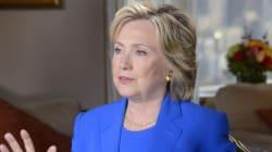 Hillary Clinton s'excuse pour avoir utilisé une messagerie