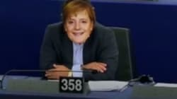 ¿Merkel? No, un eurodiputado