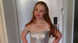 Madeline Stuart, atteinte de trisomie 21, bientôt mannequin à la Fashion
