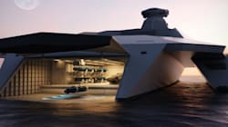 Le navire de guerre du futur ressemblera-t-il à ça?