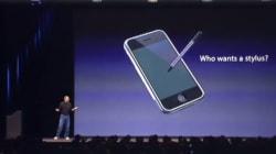 Le clavier et le stylet de l'iPad Pro n'auraient pas plu à Steve