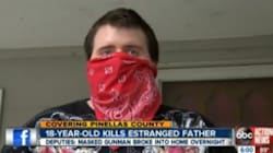 Teen Kills Masked Intruder Who Turns Out To Be His