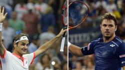 US Open: Federer et Wawrinka en