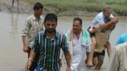 BJP MLA Who Made His Security Officer Give Him Piggyback Ride Across Stream Says 'He Is Hired To Help