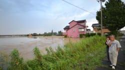 Japan floods: City Of Joso Hit By 'Unprecedented'
