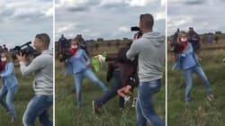 La reporter che fece lo sgambetto al migrante siriano rischia una lunga