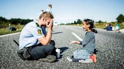 This Danish Police Officer And Syrian Girl Will Heal Your