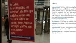 Anti-Feminist Ad Turns Up In Toronto