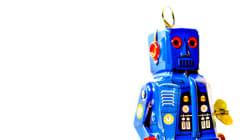 Un robot à l'animation sur ICI