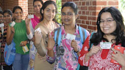 BJP's Student Wing Sweeps Delhi University