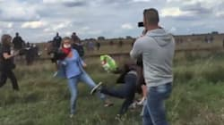 Son 'Appalled' Over Refugee Father Being Kicked By Hungarian TV