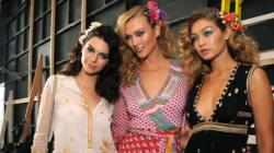Les jolis bijoux de cheveux fleuris de Diane Von Furstenberg pour le printemps-été
