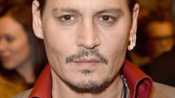 Johnny Depp Conquers The TIFF Red Carpet With Slicked Back