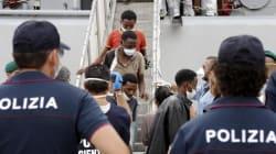 Primo hotspot a Lampedusa,