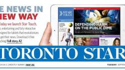 Le «Toronto Star» lance son application pour tablette basée sur «La Presse