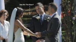 WATCH: Black Bear Photobombs B.C. Couple's Wedding