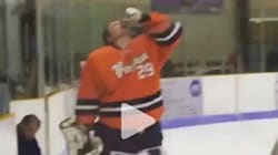 College Goalie Drinks Beer Gets Thrown Out Of