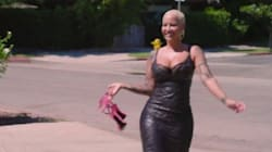 Amber Rose Is All Smiles For Her 'Walk Of No