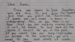 La lettera di una mamma al figlio