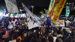 安保法案、大詰め 与野党が激しく対立、国会前は抗議デモ