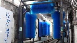 On a testé la machine à laver du métro parisien pour les Journées du