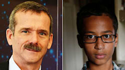 Chris Hadfield Extends Touching Invite To Teen