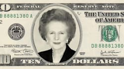 Thatcher On The U.S. $10