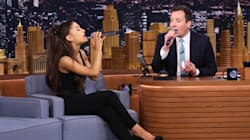 Ariana Grande Scores Canadian Cred With Celine Dion