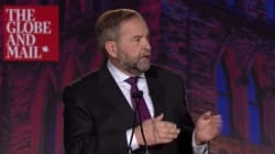 Mulcair Says Harper Has Hit 'Snooze Button' On