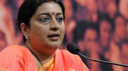 Smriti Irani Gets Legal Notice For 'False And Malicious' Charges Against Rajiv Gandhi Charitable