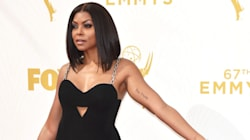 Taraji P. Henson Brings Cookie's Heat To Emmy Red