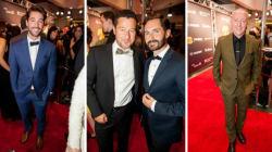 Gala Gémeaux 2015: les hommes osent la couleur