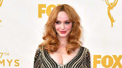 Christina Hendricks Doesn't Break A Sweat In The Hot L.A.