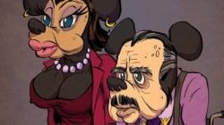 Les personnages de dessin animé ont leur club du 3e