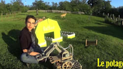 Le robot jardinier made in France va-t-il remporter le concours