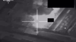 WATCH: Defence Force Video Of Fighter Jets Destroying IS Targets In