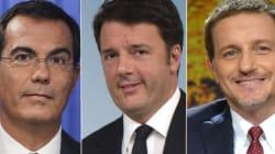 Renzi sbeffeggia Floris e Giannini: