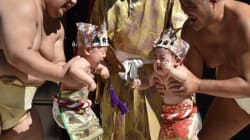 These Sumo Wrestlers Make Babies Cry It Out For Good