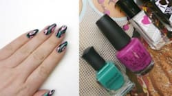 #ManiMonday: Ikat Nail Art For The Final Days Of