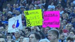 Montréal, candidate intéressante pour le Baseball