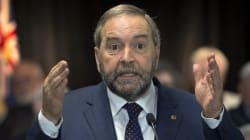 Mulcair Facing Tough Questions From Man Who Took On Quebec