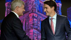 Trudeau Won't Support Harper Under Any
