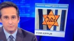 Pour illustrer un sujet sur Kippour, une chaîne américaine utilise une image de la