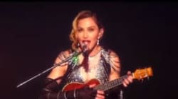 Madonna règle ses comptes avec Sean Penn en plein concert
