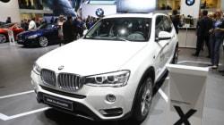 Chute de l'action BMW, associée au