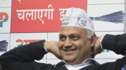 Somnath Bharti Is Behaving Like A 'Professional Criminal', Says Delhi
