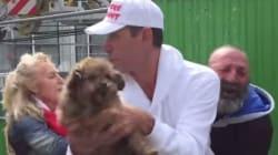 Une association de défense des animaux arrache son chien à un