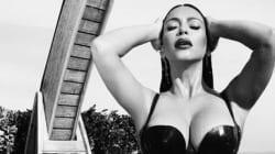 Kim Kardashian façon 50 nuances de